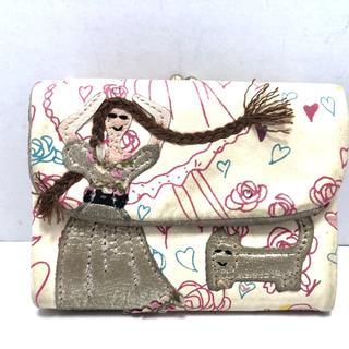 ツモリチサト(TSUMORI CHISATO)のツモリチサト 3つ折り財布 - レザー(財布)