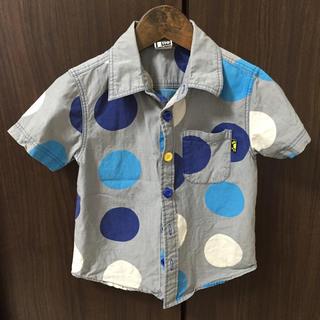 ロイヤルパーティー(ROYAL PARTY)のPARTYPARTY♡シャツ 110㎝(ブラウス)