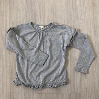 ハッシュアッシュ(HusHush)のフリル長袖カットソー(Tシャツ/カットソー)