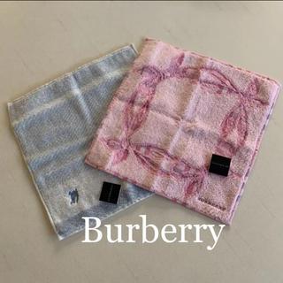BURBERRY - ☆新品 Burberry バーバリー タオルハンカチ 2枚
