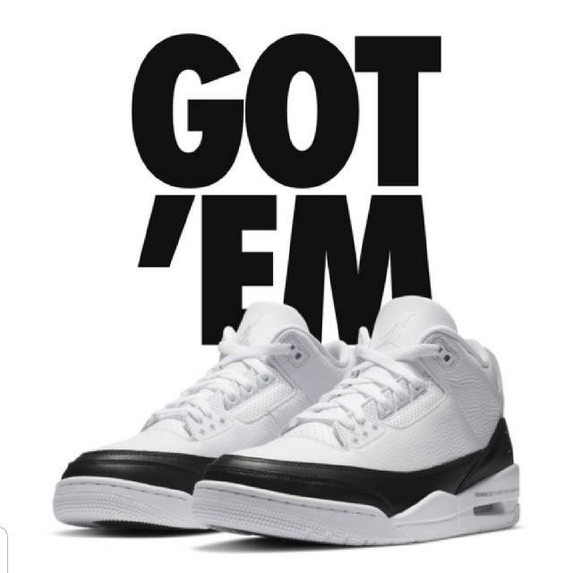 NIKE(ナイキ)のfragment × Nike Air Jordan 3 Retro SP 26 メンズの靴/シューズ(スニーカー)の商品写真