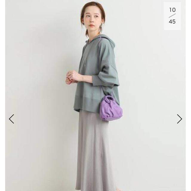 IENA(イエナ)のIENA 裏毛ワイドパーカー レディースのトップス(パーカー)の商品写真