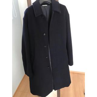 コモリ(COMOLI)のAURALEE オーラリー ステンカラー コート サイズ5 ネイビー(ステンカラーコート)