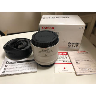 Canon - Canon Extender EF 2x II 美品中古