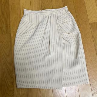 ロイヤルパーティー(ROYAL PARTY)のROYAL PARTY ストライプタイトスカート(ひざ丈スカート)