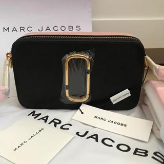MARC JACOBS - 新品!マークジェイコブス ショルダーバッグ カメラバッグ ブラック 黒 ピンク