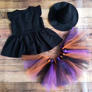 ハロウィン 魔女のコスプレ(衣装一式)