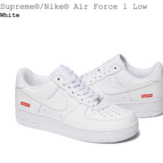 Supreme - supreme nike air force 1 low 白 27.5cm