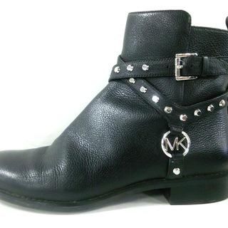 マイケルコース(Michael Kors)のマイケルコース ショートブーツ 7 M - 黒(ブーツ)