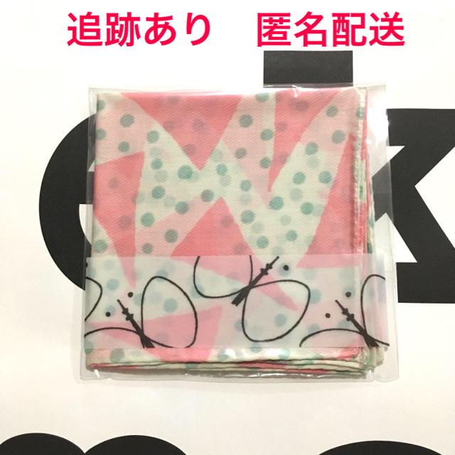 mina perhonen(ミナペルホネン)のピンク ミナペルホネン スカイツリー コラボハンカチ レディースのファッション小物(ハンカチ)の商品写真