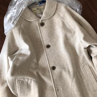 ネストローブ(nest Robe)の2020AW ウールカシミヤラグランスリーブコート (ロングコート)