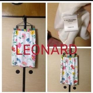 レオナール(LEONARD)のLEONARDレオナール大人綺麗めスカート!(ひざ丈スカート)