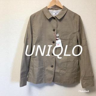 ユニクロ(UNIQLO)の【新品・未使用】ユニクロ WOMEN リネンコットンカバーオール+E XL(その他)