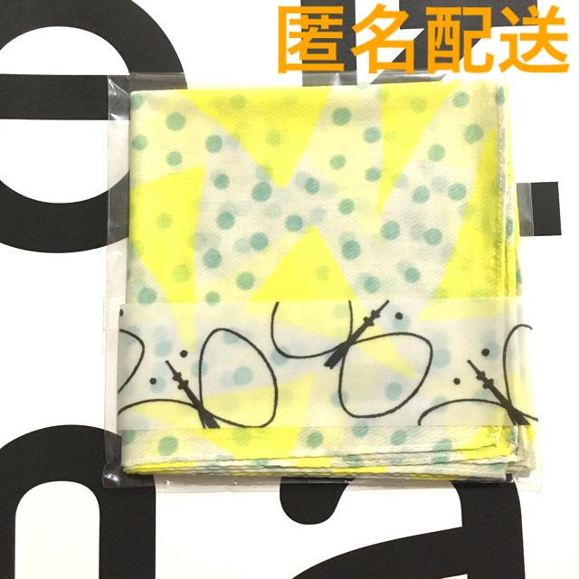 mina perhonen(ミナペルホネン)のイエロー スカイツリー ミナペルホネン コラボハンカチ レディースのファッション小物(ハンカチ)の商品写真