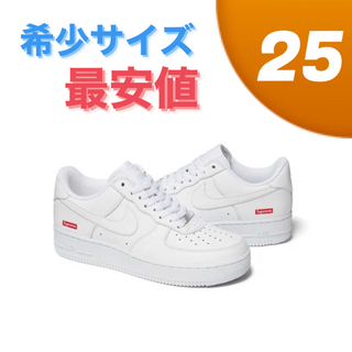 Supreme - 25cm Supreme Nike Air Force 1 Low