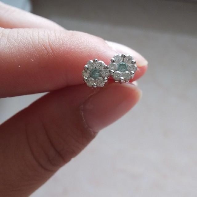 mil様  専用  ダイヤモンドピアス レディースのアクセサリー(ピアス)の商品写真