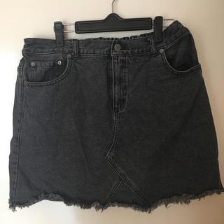 プニュズ(PUNYUS)のプニュズ デニムスカート サイズ3(ミニスカート)