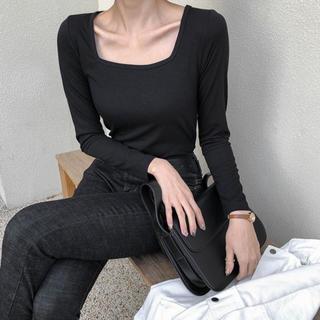 ゴゴシング(GOGOSING)の韓国通販メロンショップ 長袖Tシャツ(Tシャツ(長袖/七分))