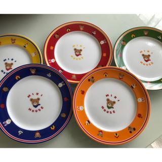 ミキハウス(mikihouse)の新品未使用ミキハウスプレート5枚セット(食器)