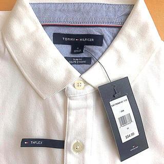トミーヒルフィガー(TOMMY HILFIGER)のトミーヒルフィガー 白 ポロシャツ(ポロシャツ)