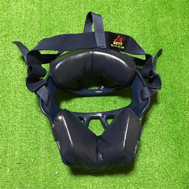 ZETT(ゼット)の少年 ソフトボール キャッチャー 防具 プロテクター レガース  マスク   スポーツ/アウトドアの野球(防具)の商品写真