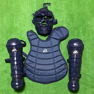 ZETT - 少年 ソフトボール キャッチャー 防具 プロテクター レガース  マスク