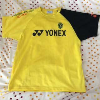 ヨネックス(YONEX)のYONEX ヨネックス Tシャツ バドミントン テニス ユニセックス イエロー(ウェア)