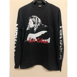 FEAR OF GOD - NIRVANA Kurt Cobain 90s Tribute rap tee