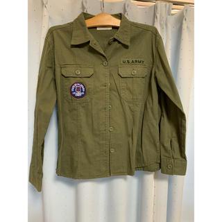 ウィゴー(WEGO)のミリタリーシャツジャケット(ミリタリージャケット)