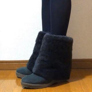 DEUXIEME CLASSE - ドゥーズィエムクラス  ❁ ムートン ブーツ