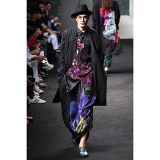 Yohji Yamamoto Pour Homme 19ss シルクシャツ