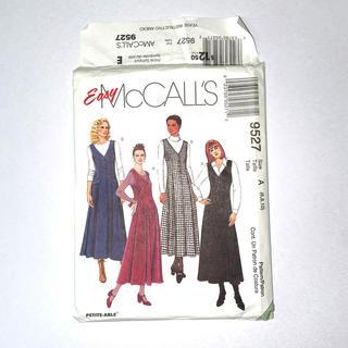 Easy McCALL'S  9527 Vネック ジャンパー ビンテージ(型紙/パターン)