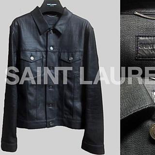 サンローラン(Saint Laurent)の神 エディ期のコーティングジャケット サンローラン サイズm (Gジャン/デニムジャケット)