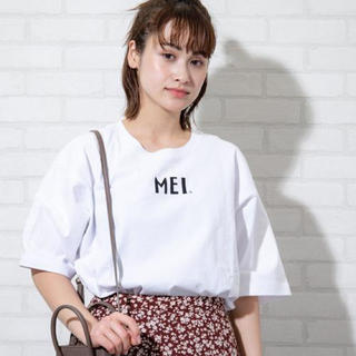 coen - 新品タグ付き coen MEIコラボTシャツ 白