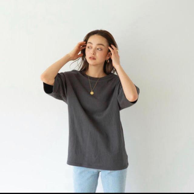 SeaRoomlynn(シールームリン)のsearoomlynn コットン2FACE LOOSE-T レディースのトップス(Tシャツ(半袖/袖なし))の商品写真