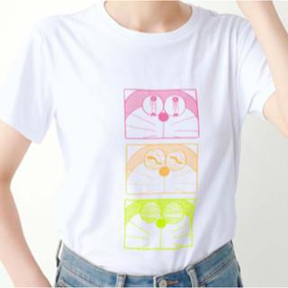 フェリシモ(FELISSIMO)のドラえもん Tシャツ レディース Mサイズ(Tシャツ(半袖/袖なし))