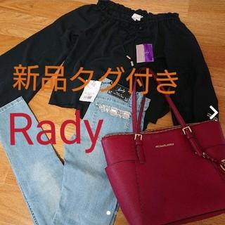 レディー(Rady)の《新品》Rady★シフォントップス(シャツ/ブラウス(長袖/七分))