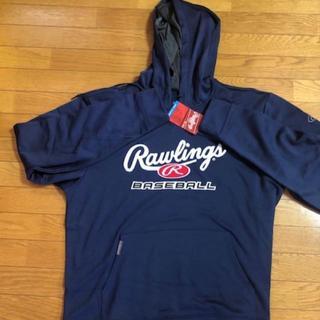 ローリングス(Rawlings)の☆USA限定☆ローリングスRawlings ☆パーカー★紺色☆XL☆新品(ウェア)