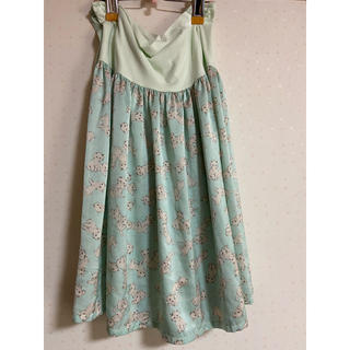 franche lippee - フランシュリッペ 猫 ネコ ねこ スカート 大きいサイズ fl5