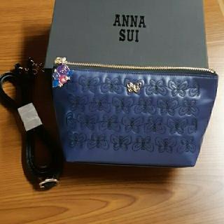 《最終値下げ》ANNA SUI❇️ミニショルダーバッグ ネイビー 新品(ショルダーバッグ)