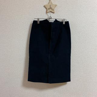 グッチ(Gucci)のGUCCI グッチ タイトスカート 黒(ひざ丈スカート)
