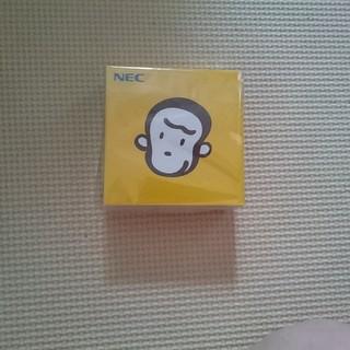 エヌイーシー(NEC)の新品未使用 ☆ バザールでござーる メモ帳 ☆(ノベルティグッズ)