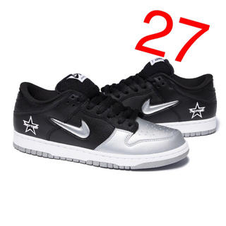 Supreme - Supreme Nike SB Dunk Low 27 black