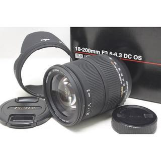 シグマ(SIGMA)のシグマ 18-200mm F3.5-6.3 DC OS HSM ニコン(レンズ(ズーム))
