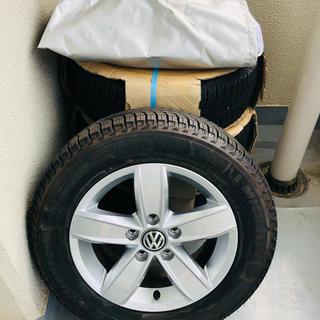 Volkswagen - Volkswagen純正アルミホイール+ミシュランスタッドレスタイヤセット