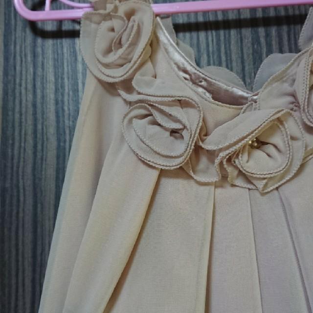 結婚式  ワンピース  ドレス レディースのワンピース(ひざ丈ワンピース)の商品写真