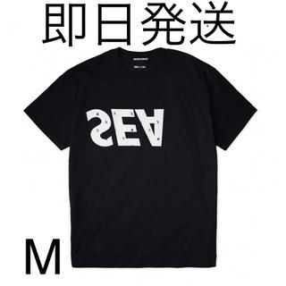 SEA - WDS × XXX MONOGRAM T-SHIRT BLACK M