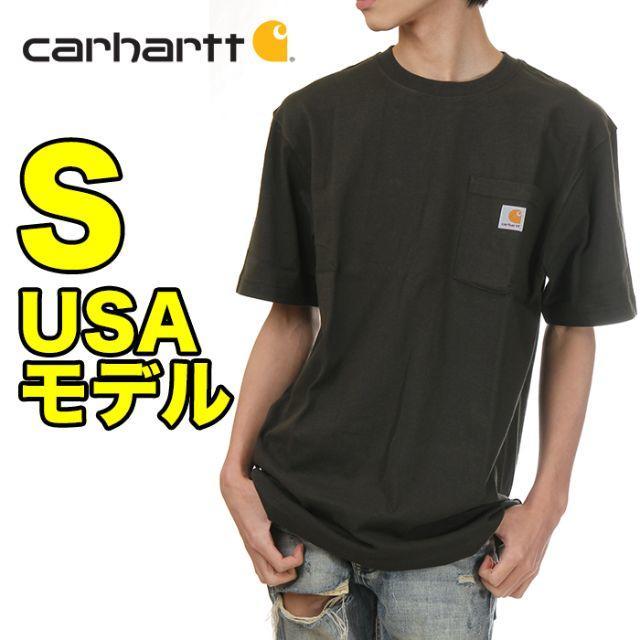 carhartt(カーハート)の【新品】カーハート ポケット Tシャツ S ピート USAモデル メンズのトップス(Tシャツ/カットソー(半袖/袖なし))の商品写真