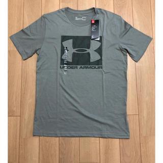 アンダーアーマー(UNDER ARMOUR)の【新品】アンダーアーマー 半袖Tシャツ サイズM グラビティグリーン(Tシャツ/カットソー(半袖/袖なし))