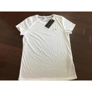 アンダーアーマー(UNDER ARMOUR)の新品 訳あり レディース   半袖 Tシャツ Lサイズ(Tシャツ(半袖/袖なし))